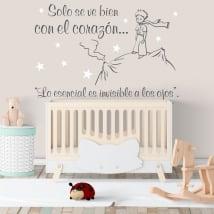 Vinyle et autocollants pour enfants le petit prince