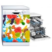Vinyle et autocollants des fruits décoration de lave-vaisselle