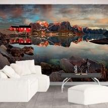 Peintures murales en vinyle reine norvège