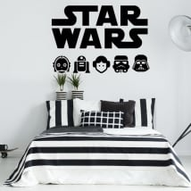 Vinyle décoratif et autocollants star wars