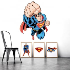 Stickers muraux superman