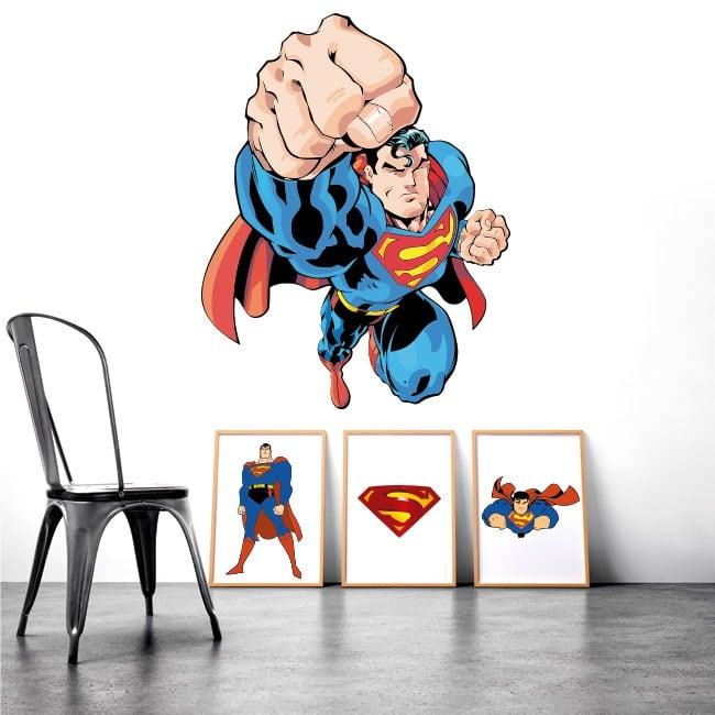 Vinyle décoratif et autocollants superman
