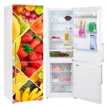 Vinyle décoratif pour les réfrigérateurs
