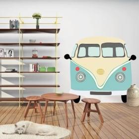 Adhésif vinyle volkswagen t1 kombi à décorer