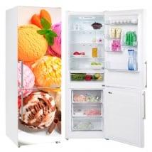 Vinyle et autocollants pour décorer les réfrigérateurs glace