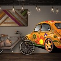 Vinyle décoratif et des autocollants volkswagen coléoptère