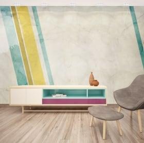 Murales de vinyle style rétro