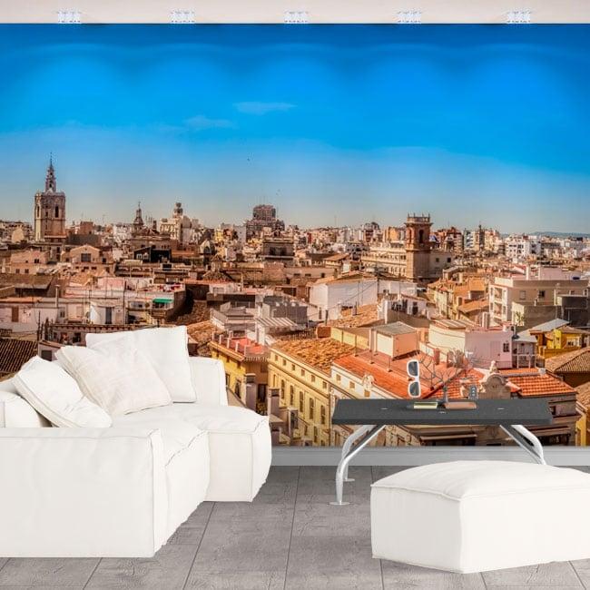Murales de vinyle panoramique de valence
