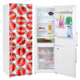 Vinyle pour décorer les réfrigérateurs confiserie des chocolats