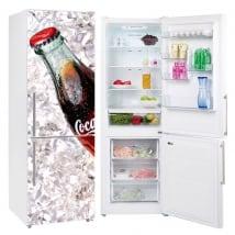 Vinyles pour réfrigérateurs coca-cola