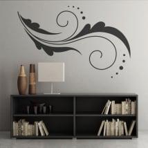 Vinyle des fleurs décoration murs et objets