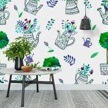Peintures murales décorer les murs et les objets jardin