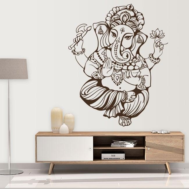 Vinyle décoratif et autocollants ganesha