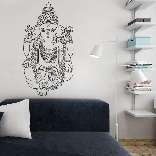 Vinyle décoratif ganesha décorer les murs et les objets
