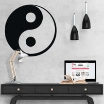 Autocollants yin yang