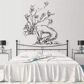Vinyle décoratif l'arbre de vie