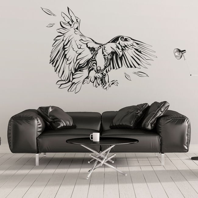 Vinyle décoratif et des autocollants aigle