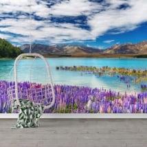 Murales de vinyle lake tekapo nouvelle-zélande