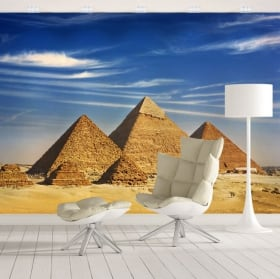 Murales de vinyle pyramides de guiza