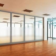 Vinyles pour fenêtres ou verre mètres simples