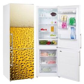 Vinyle décoratif réfrigérateurs glaçons