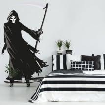 Vinyle décoratif et des autocollants de la mort
