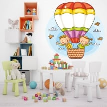 Vinyle et des autocollants enfants en ballon