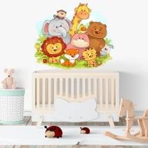 Vinyle pour bébé animaux pour enfants