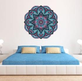Vinyle décoratif mandala à décorer