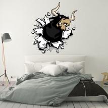Vinyle décoratif et des autocollants taureau