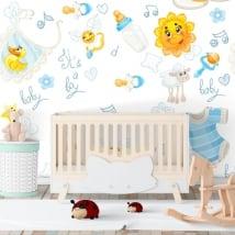 Murales de vinyle pour les chambres de bébé