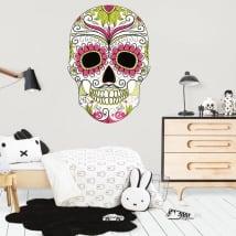 Vinyle décoratif crâne jour des morts
