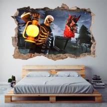 Vinyle décoratif fortifié 3d