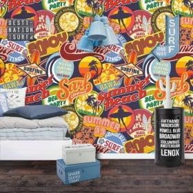 Murales de vinyle les romantiques amour