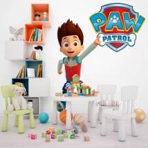 Vinyle décoratif et des autocollants paw patrol logo