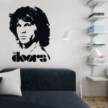 Vinyle décoratif jim morrison the doors