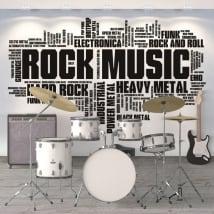 Vinyle décoratif et autocollants de musique