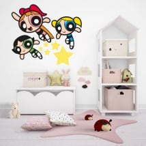 Stickers muraux supernets ou filles powerpuff