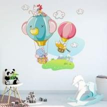 Vinyle décoratif et des autocollants aventures des enfants