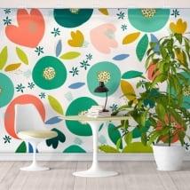 Murales de vinyle les couleurs tropical
