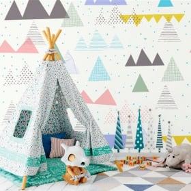 Murales triangles et traits