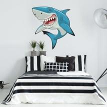 Autocollants et vinyls décoratifs requin