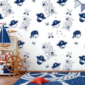 Papiers peints pour enfants ou jeunes sirène monde de la mer