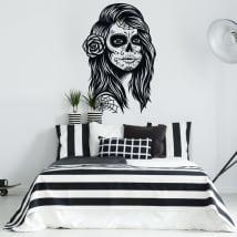 Autocollants et vinyles décoratifs jour des morts
