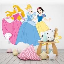 Vinyle et autocollants princesses disney