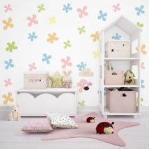 Papiers peints pour enfants ou jeunes formes de couleurs