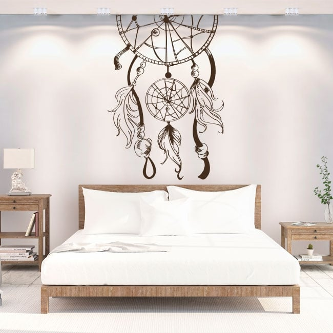 Vinyle mur décoratif capteur de rêves