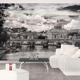 Peintures murales de vinyle big ben londres
