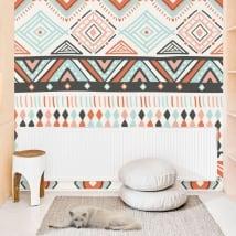 Murales de vinyle décoratif avec le style hippie
