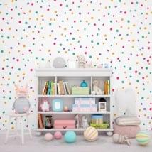Photomuraux de vinyle les murs petites éclaboussures de couleurs